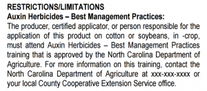 Cover photo for Regional Auxin Herbicides - Best Management Practices Training