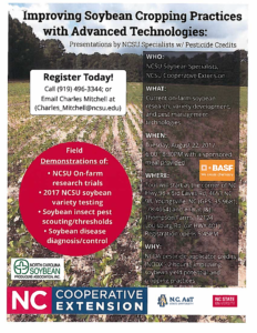 Cover photo for Improving Soybean Cropping Practices With Advanced Technologies