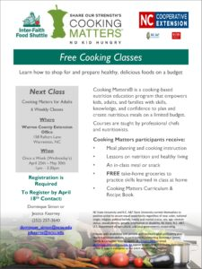 Cover photo for Cooking Matters-Free Cooking Class