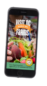 Cover photo for Visit NC Farms Smartphone App Survey