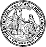 A picture of the state of NC seal.