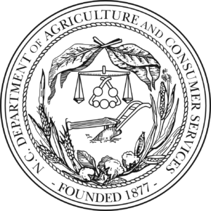 NC Dept. of Agriculture and Consumer Services logo