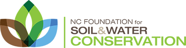 A picture of the NC Soil & Water Conservation Foundation logo.