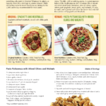 image of 5 makeover meals brochure and recipes page 2