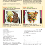 image of 5 makeover meals brochure with recipes page 3