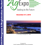 Image of the AgExpo programs,information, and and agenda