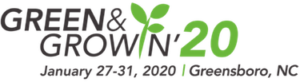 image of Green&Growin logo with dates and location