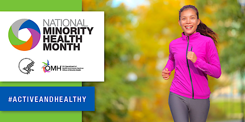 National Minority Health Month heading for week 3