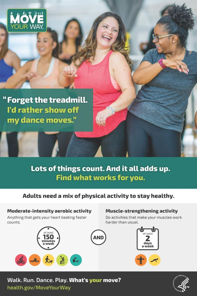 National Minority Health month poster