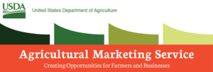 image of the words US Dept. of Agriculture Agricultural Marketing Service header