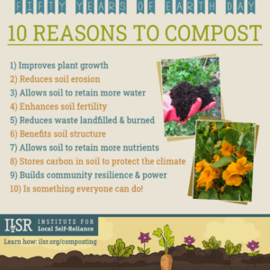 10 reasons to compost flyer