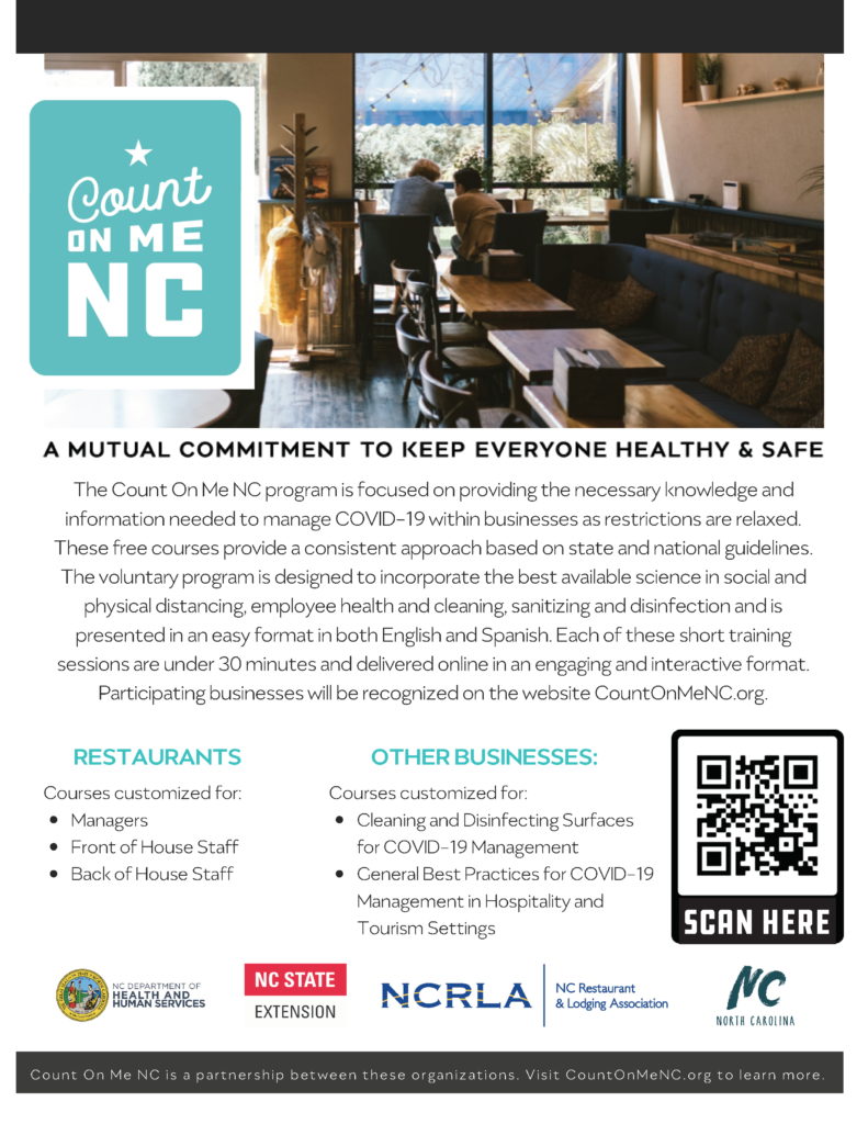 Count on me NC flyer