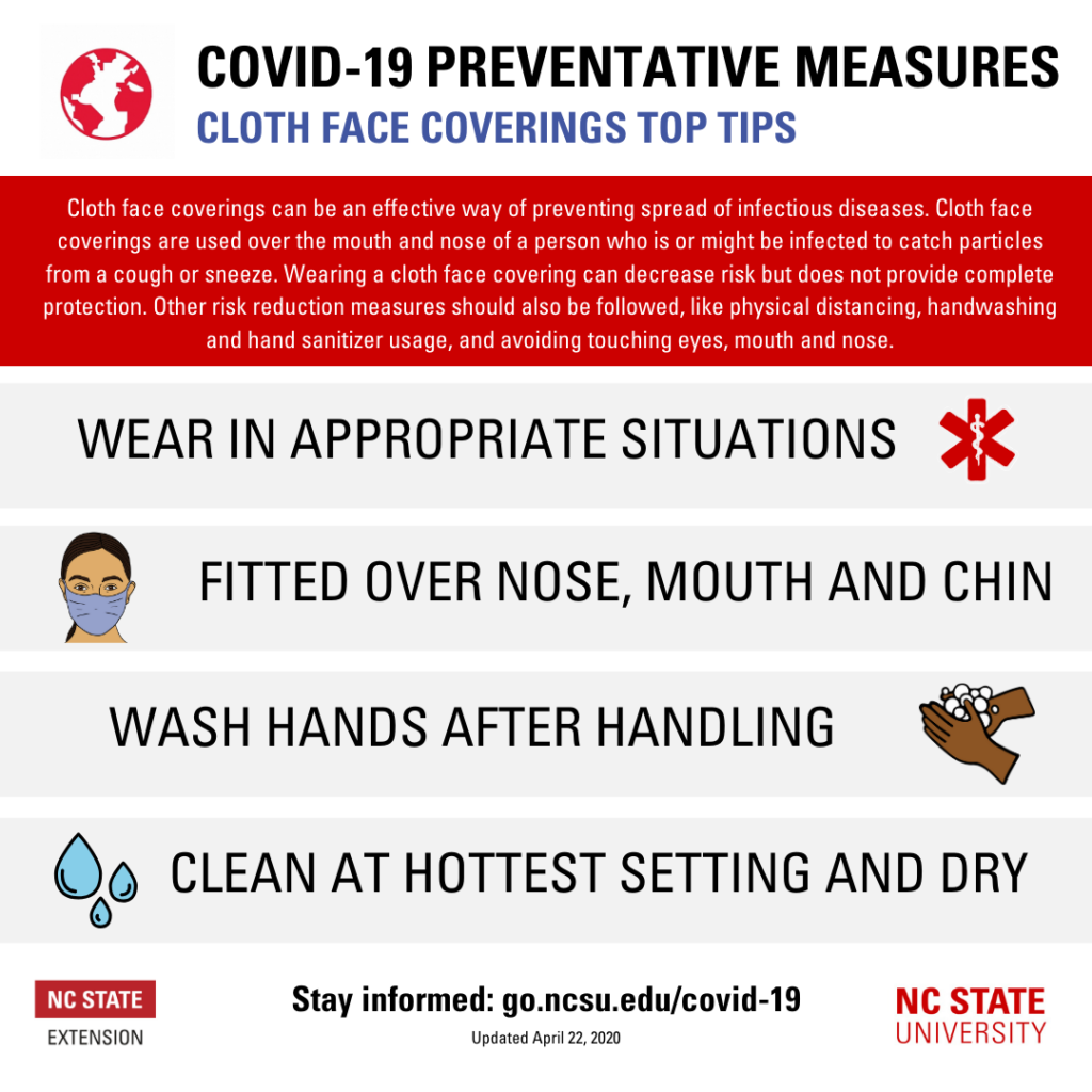 COVID-19 Face Coverings Tips