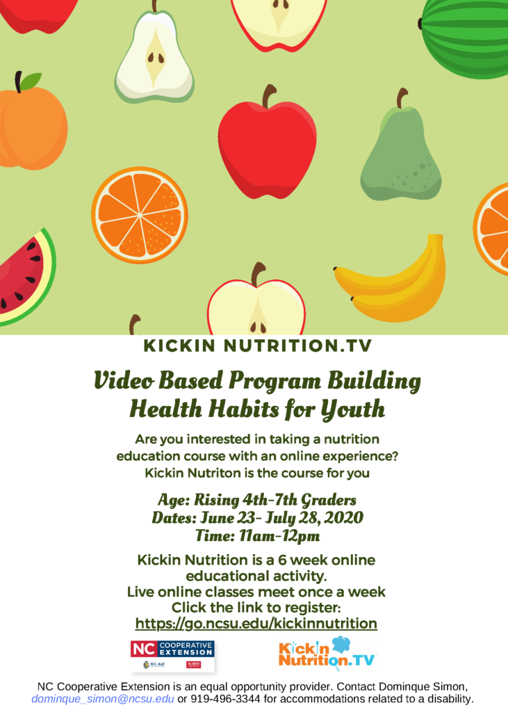 Kickin Nutritin Flyer page 1