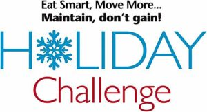 Maintain Don't Gain Holiday Challenge logo