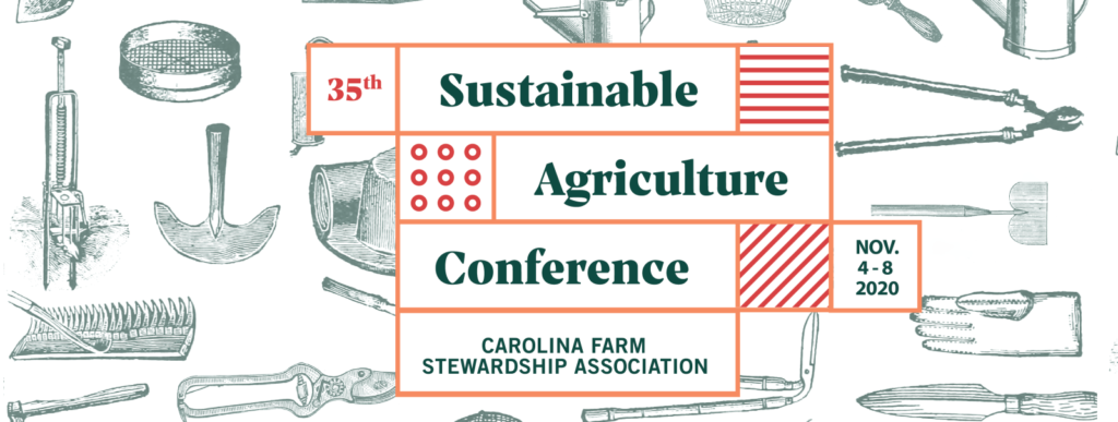 Carolina Farm Stewardship Sustainable Ag Conference logo
