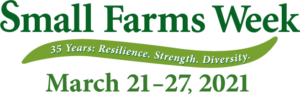 NCA&T Small Farms week March 21-27, 2021 logo